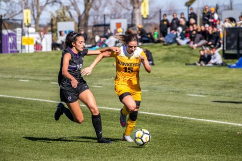 Hawkeye soccer sweeps state of Michigan