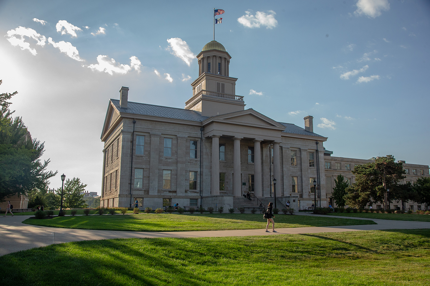 The Old Capitol building is seen in 2018.