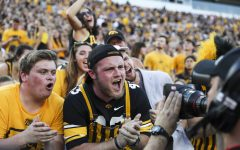 Hawkeye football superfans show front row pride