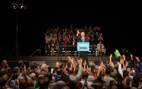 Biden in Cedar Rapids: Leaders need to 'set the tone and dial down the temperature'