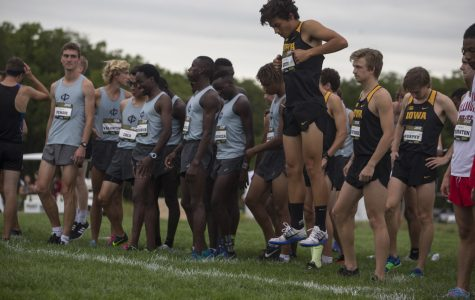 Iowa cross-country runs alone, finishes for the team