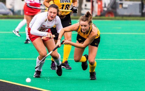 Hawkeye field hockey prepares for last regular season match