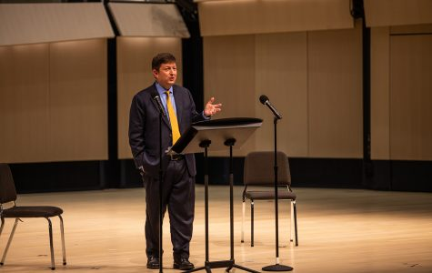 Kopp holds forum as first of four College of Liberal Arts & Sciences dean candidates