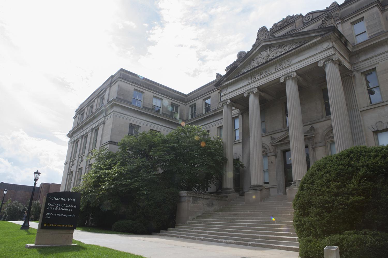 Schaeffer Hall as seen on Oct. 9, 2018.