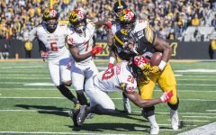 Iowa running back Mekhi Sargent sparks Hawkeye run game