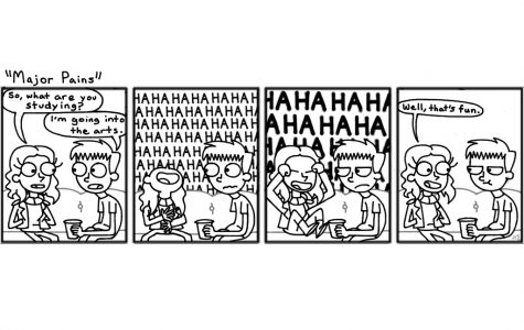 Cartoon: Major pains