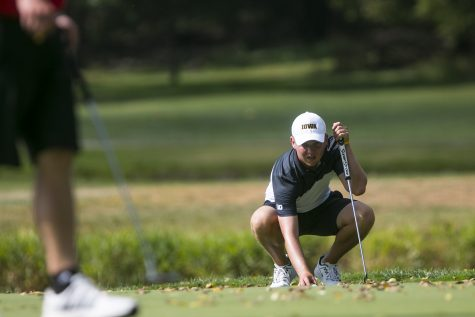 Iowa men's golf wins Hawkeye Invitational