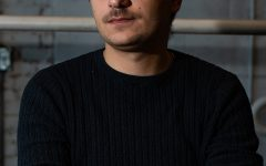 Filmmaker Iva Pezuashvili as seen in Iowa City on October 23, 2018. (Roman Slabach/The Daily Iowan)