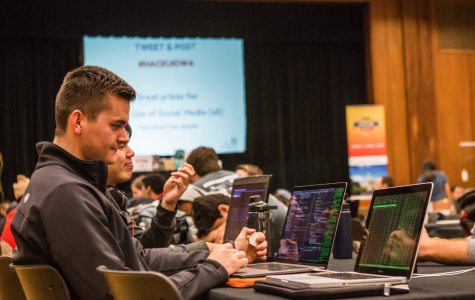 Student programmers compete at Hackathon