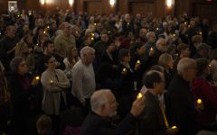 'We do not tolerate hate or racism': Community honors victims of Pittsburgh, Louisville shootings