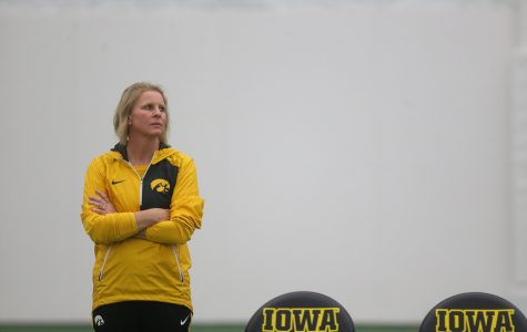 Hawkeye tennis men and women compete at same time for first time in fall