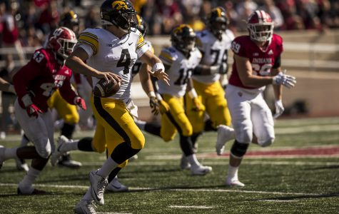 By the numbers: Hawkeye quarterback Nate Stanley playing at a record pace