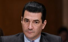 FDA Commissioner Scott Gottlieb testifies at an hearing on Capitol Hill on October 5, 2017, in Washington, D.C.