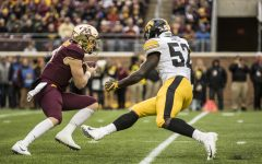 Amani Jones gets reps on D-line as Iowa's defense makes changes