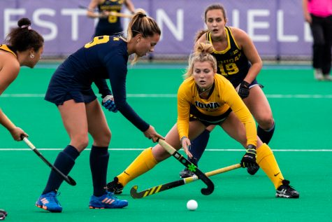 Hawkeye field hockey turns head to top-15 opponents