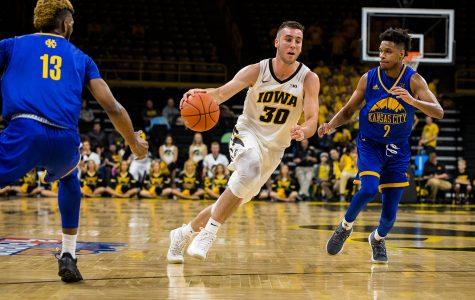 Photos: Iowa men's basketball vs. Missouri-KC (11/08/18)