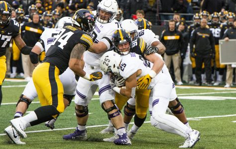 Reiff, Hankins out against Iowa State