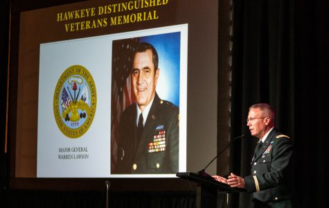 UI honors distinguished veterans in ceremony