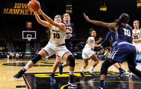 Schedule tightens up for Iowa women's basketball