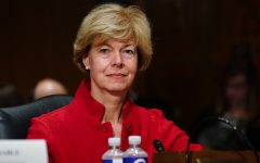 Tammy Baldwin, D-Wisconsin, speaks as Congress' Joint Select Committee on the Solvency of Multiemployer Pension Plans holds its fifth public hearing on July 25, 2018. (Jay Mallin/Zuma Press/TNS)