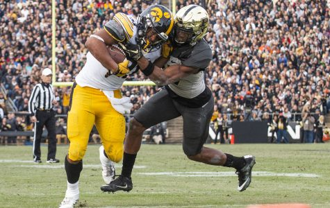 Iowa football's run game falters