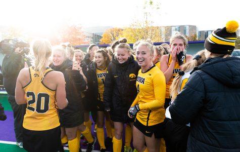 The young Iowa field hockey team turns heads