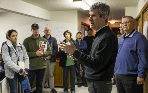 Hubbell stresses change ahead of Election Day