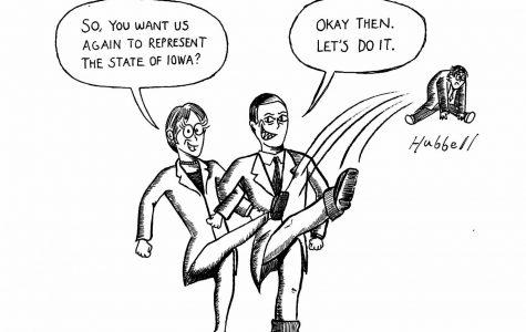 Cartoon: Iowa politics