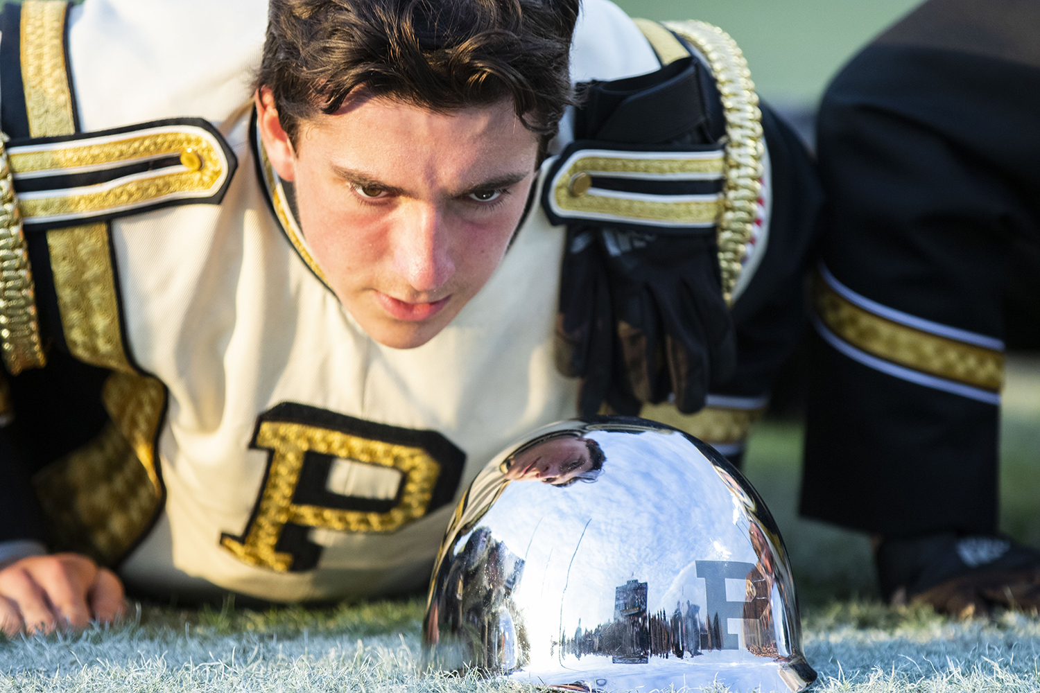 A+Purdue+All-American+Marching+Band+member+does+push+ups+after+a+Purdue+touchdown+during+the+Iowa%2FPurdue+game+at+Ross-Ade+Stadium+in+West+Lafayette%2C+Ind.+The+Boilermakers+defeated+the+Hawkeyes%2C+38-36%2C+with+a+last+second+field+goal.+
