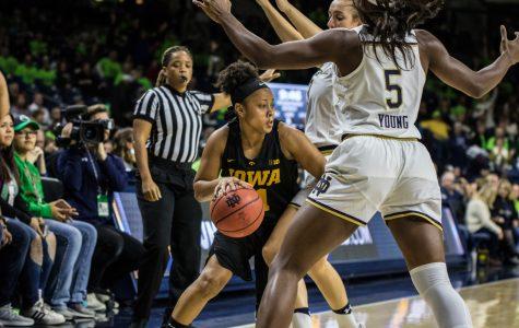 Photos: Iowa women's basketball vs. Notre Dame