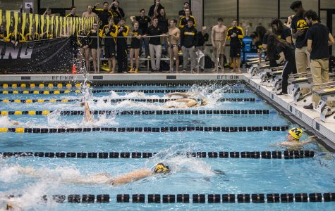 Photos: Swimming vs. Michigan/Denver (11/3/18)