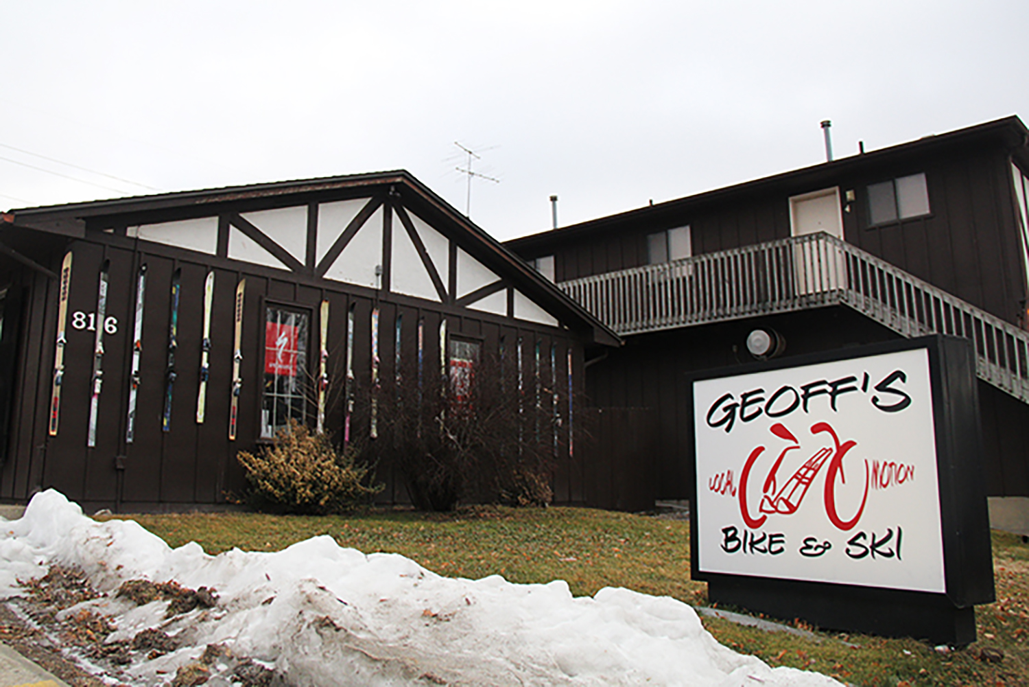 Geoff's Bike and Ski Shop is shown on Wednesday, Feb. 3, 2016.