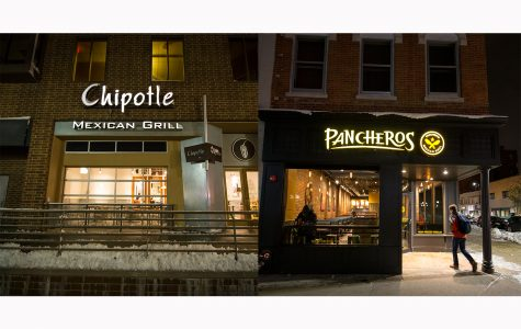 Point-counterpoint: Pancheros or Chipotle?