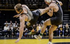 Iowa wrestling takes down Nebraska to stay perfect