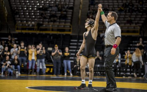 Cy-Hawk battle continues on the wrestling mat