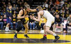 Iowa wrestling preps for Princeton in home-opener