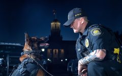 UI police dog K9 Falo retires after 4 years of service