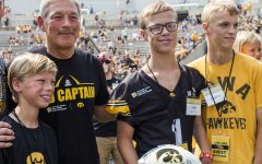 Kid Captain may bring good luck to Hawkeyes in Outback Bowl