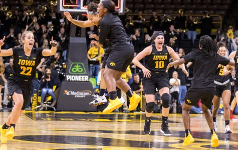 Iowa women top Iowa State in last-second thriller