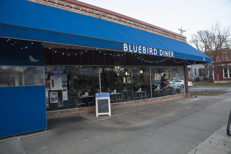 The Bluebird Diner is seen on Saturday, December 9, 2018. (Michael Guhin/The Daily Iowan).