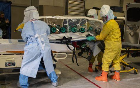 UIHC exercise simulates hazardous disease response