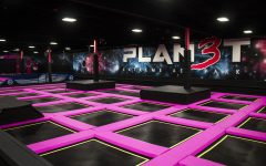 Planet 3 Extreme Air Park is seen on Tuesday, Dec. 11, 2018. The extreme air park is the first trampoline park in Iowa City and recently replaced Kmart.