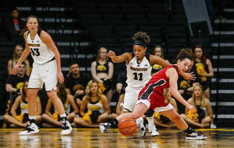 Hawkeye women steal win over Jaguars with defense