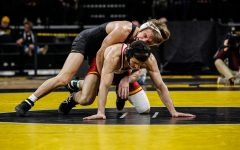 Iowa wrestling focuses on closing out matches