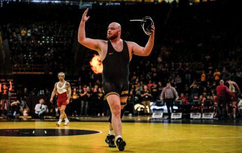 Photos: Iowa Wrestling vs. Iowa State 12/1/18