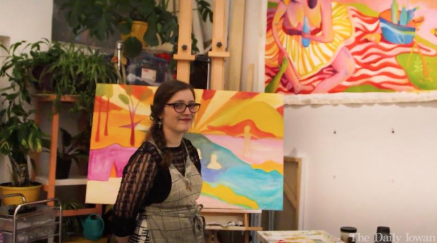 Video: Meet Alexis, a painter, storyteller, and artist