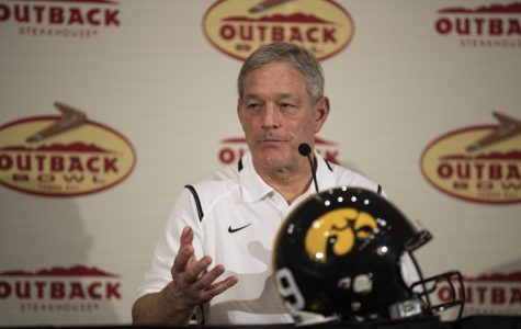 Kirk Ferentz speaks ahead of Outback Bowl