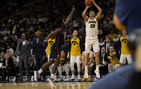 Photos: Iowa men's basketball vs. Illinois (01/20/19)