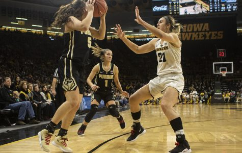 Photos: Iowa women's basketball vs. Purdue (01/27/19)