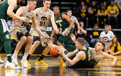 Photos: Iowa Men's Basketball v. Michigan State (1/24/2019)